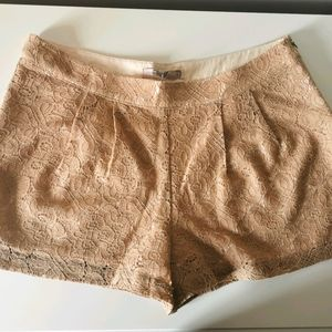 *2/$12* Forever 21 Plus BNWT Taupe Tan Shorts